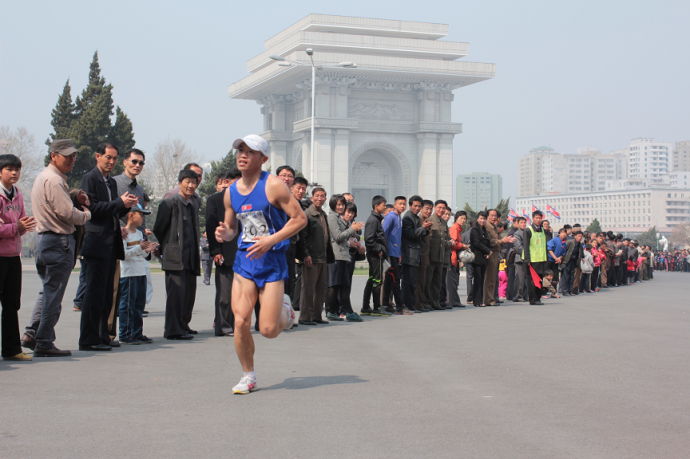 DPRK at the finish 2
