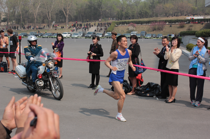 DPRK at the finish
