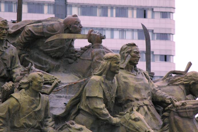 mongol statue