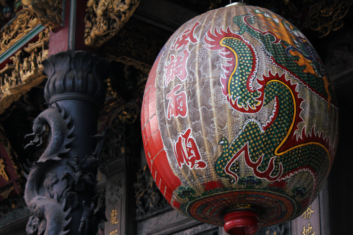 Close up Longshan